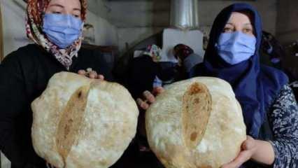 Köylü kadınlar ekmek parasıyla cami yaptırdı!