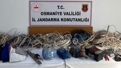 Osmaniye'de hırsızlık operasyonu: 5 zanlıdan 3'ü tutuklandı