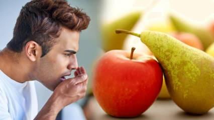 Ramazan ayında ağız kokusuna karşı: Elma ve armut yiyin!