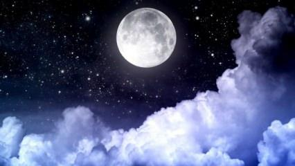 Rüyada ay görmek nasıl tabir edilir? Rüyada dolunay görmek hayırlı mıdır?