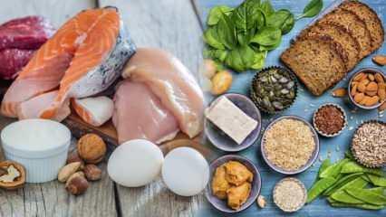 Sağlıklı oruç için protein tüketimine dikkat!