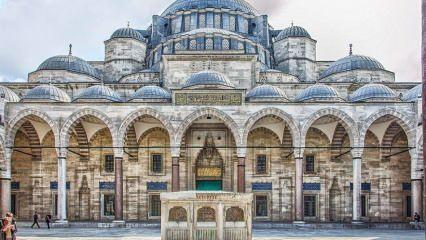 Süleymaniye Camii'nin ilginç özellikleri...
