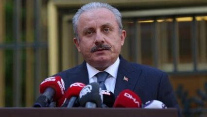 TBMM Başkanı Şentop'tan İsrail'in saldırılarına tepki
