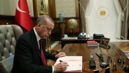 7 ili ilgilendiren karar! Erdoğan imzayı attı