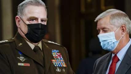 ABD Genelkurmay Başkanı Milley: Afgan hükümeti Taliban'a karşı zor dayanır