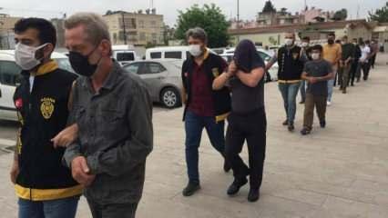 Adana'da 22 firari cezaevine gönderildi