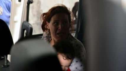 Adana'da, çocuklarına şiddet uygulayan kadına gözaltı