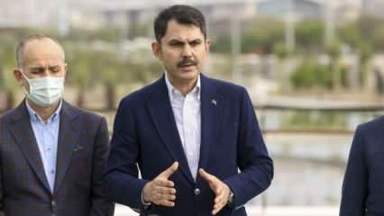 Bakan Kurum talimat verdi: Keskin çarşısı yenileniyor