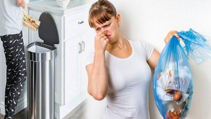 Çöp kovası kokusu nasıl giderilir? Çöp kovası nasıl güzel kokar? Pratik çöp kovası temizliği