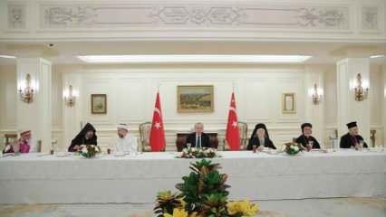 Başkan Erdoğan, azınlık cemaatlerinin temsilcileri ile iftar yaptı