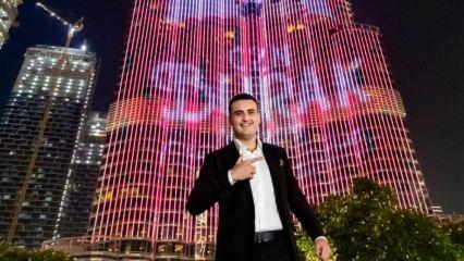 CZN Burak'tan Dubai'de drone şov! 1200 drone ile...