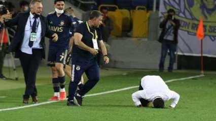 90+6'da gol geldi! Emre Belözoğlu secdeye gitti