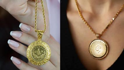 En güzel Reşatlı altın kolye modelleri! 2021 Reşatlı altın kolye fiyatları