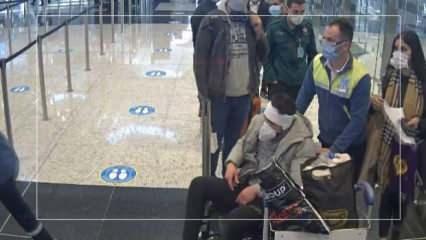 İnsan kaçakçılarının akılalmaz oyunu havalimanında bozuldu