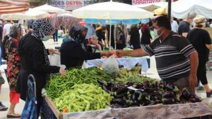 İstanbul'da 423 pazar açık