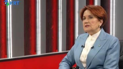 Meral Akşener'den canlı yayında flaş itiraf: CHP bize kaybettirdi!