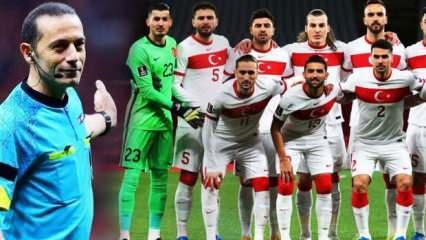 Milli Takım'ın maçını Cüneyt Çakır yönetebilir!