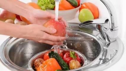 Pestisit tehlikesine dikkat! Sirkeli su yerine karbonat kullanın