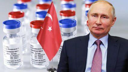 Türkiye'de de kullanılacak Rus aşıları için Putin'den olay açıklama