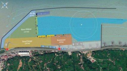 Rize İyidere Lojistik Limanı 8.000 kişiye dolaylı istihdam sağlayacak
