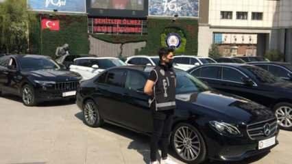 Değerleri 40 milyon lira! Sahte belgeli lüks araç operasyonu yapıldı
