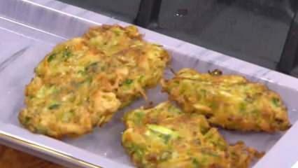 Sebze köftesi nasıl yapılır? Yumurtalı sebze köftesi tarifi...