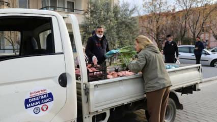 Sebze meyve için yeni öneri: Ekmek gibi sokakta satılsın!
