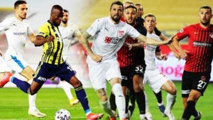 Süper Lig'de bitime 3 hafta kala son durum!