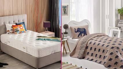 Tek kişilik yatakların ölçüleri nasıl olmalı? Tek kişilik yatak modelleri 2021