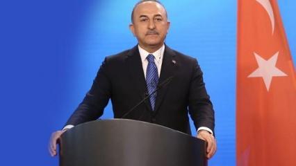 Sözleri çarpıtılan Çavuşoğlu'ndan yeni açıklama