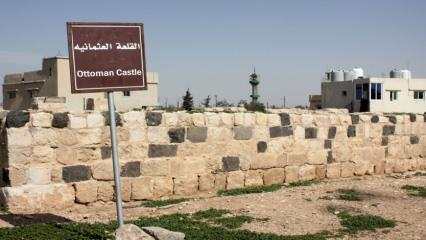 Ürdün'de hacıların güvenliğini sağlayan tarihi Osmanlı kalesi