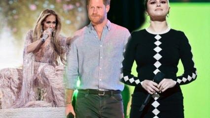 Prens Harry, Jennifer Lopez ve Selena Gomez'den aşı desteği!