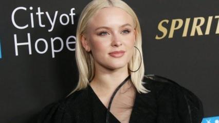 Dünyaca ünlü pop yıldızı Zara Larsson'dan işgalci İsrail'e tepki