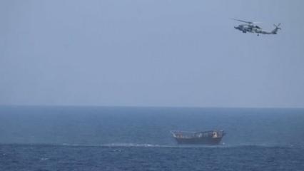 Uluslararası sularda gemiye operasyon! Binlerce füze ve tüfeğe el konuldu