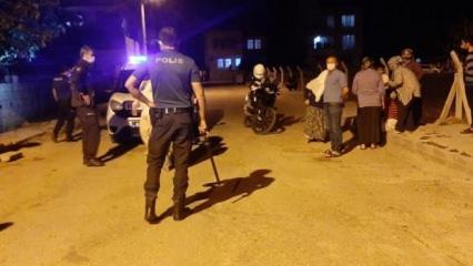 Akrabalar arasında kavga:1 Yaralı, 3 gözaltı