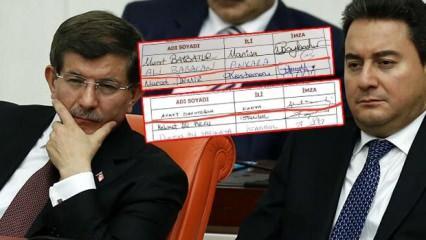 Babacan ve Davutoğlu'nun siyasi ikiyüzlülüğünün işte belgesi