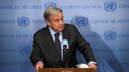 BM Genel Sekreteri Guterres'ten Doğu Kudüs ve Gazze açıklaması
