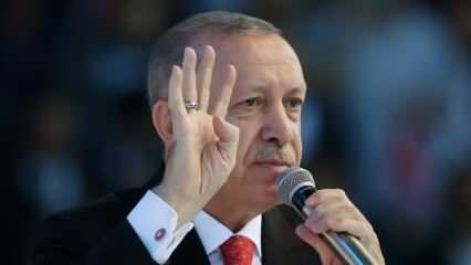 Cumhurbaşkanı Erdoğan'dan dünyaya Filistin çağrısı