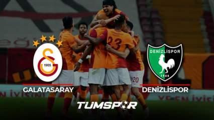 Denizlispor Galatasaray maçı geniş özeti ve golleri (BeIN Sports) Aslan adım adım şampiyonluğa!
