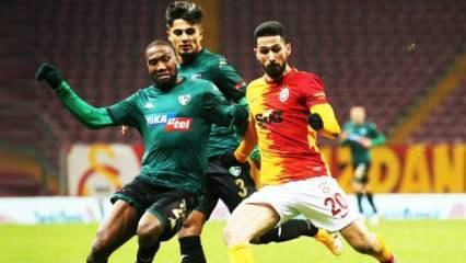 Denizlispor - Galatasaray! Muhtemel 11'ler