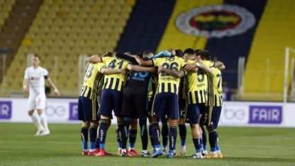 Fenerbahçe'nin Kayserispor maç kadrosu belli oldu!