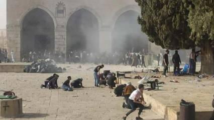 Filistinlilerin Mescid-i Aksa direnişi