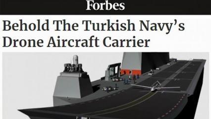 Forbes: Türkiye, dünyanın ilk SİHA gemisine sahip olabilir