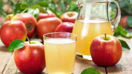 Hangi meyve suyu hangi hastalığa iyi gelir? Yatmadan bir bardak elma suyu içerseniz...