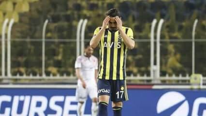 İrfan Can Kahveci oyuna devam edemedi!