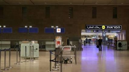 İsrail, Tel Aviv'deki havalimanını uçuşlara kapattı