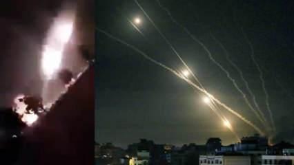 İlk kez kullandıkları SH85 füzeleriyle İsrail'i vurdular