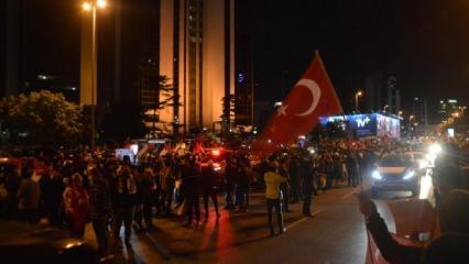 İstanbul'daki İsrail Başkonsolosluğu önünde protesto!