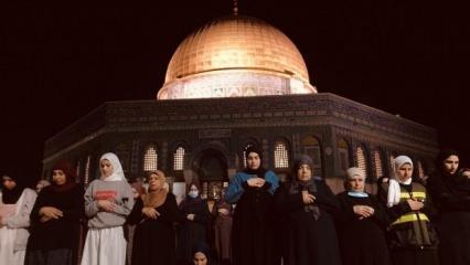 Kudüs'ten dünyaya yansıyan tarihi görüntüler
