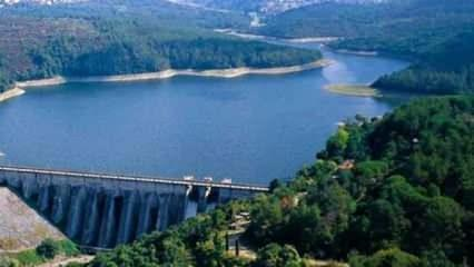 İstanbul barajlarında doluluk oranı yüzde 78 seviyesinde